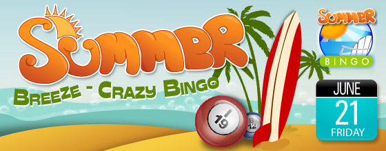 Summer Breeze Crazy Bingo