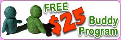 $25 Buddy Referral Program