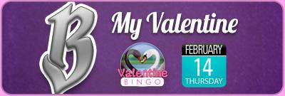 B My Bingo Valentine