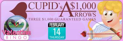 Cupid's $1,000 Arrows
