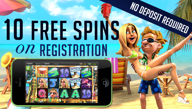 10 Free Spins on Registration from Vegas Crest